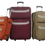How can holdall and suitcase help us in journey?